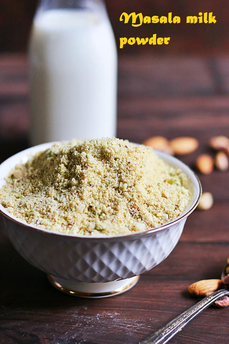 masala milk powder recipe