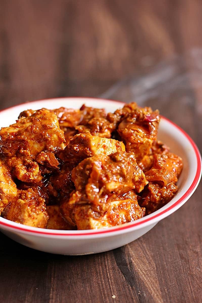 paneer ghee roast recipe c