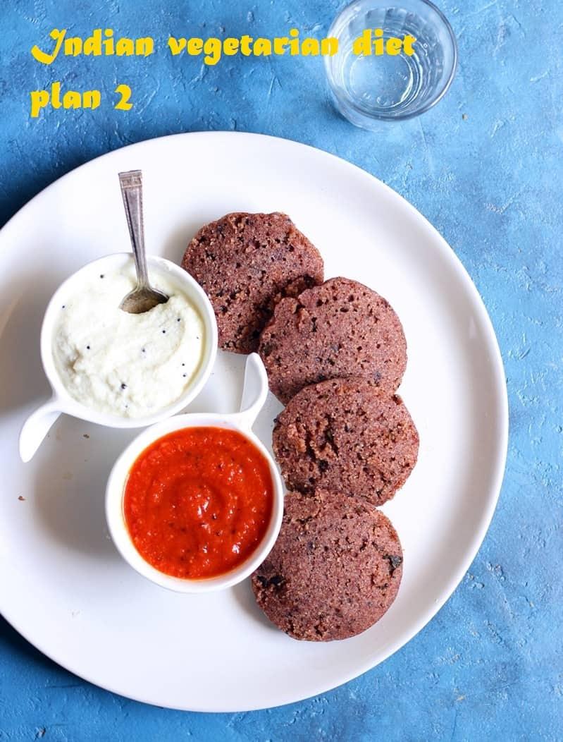 Indian vegetarian diet plan week 2