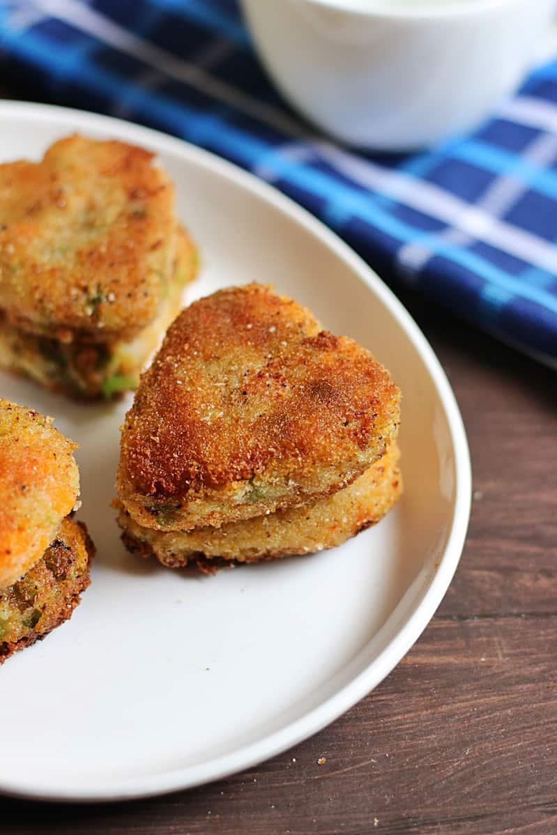 veg cutlet recipe step6