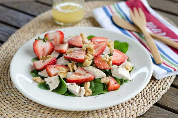 Paleo Lime-Berry Chicken Salad