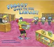 Froggy Goes to the Library - Jonathan London