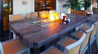 New For Fall 2018 - Santa Monica Fire Pit Table - COOKE ...