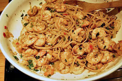 Recipe: Spicy Creole Shrimp with Pasta