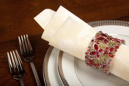 Holiday napkin ring 1
