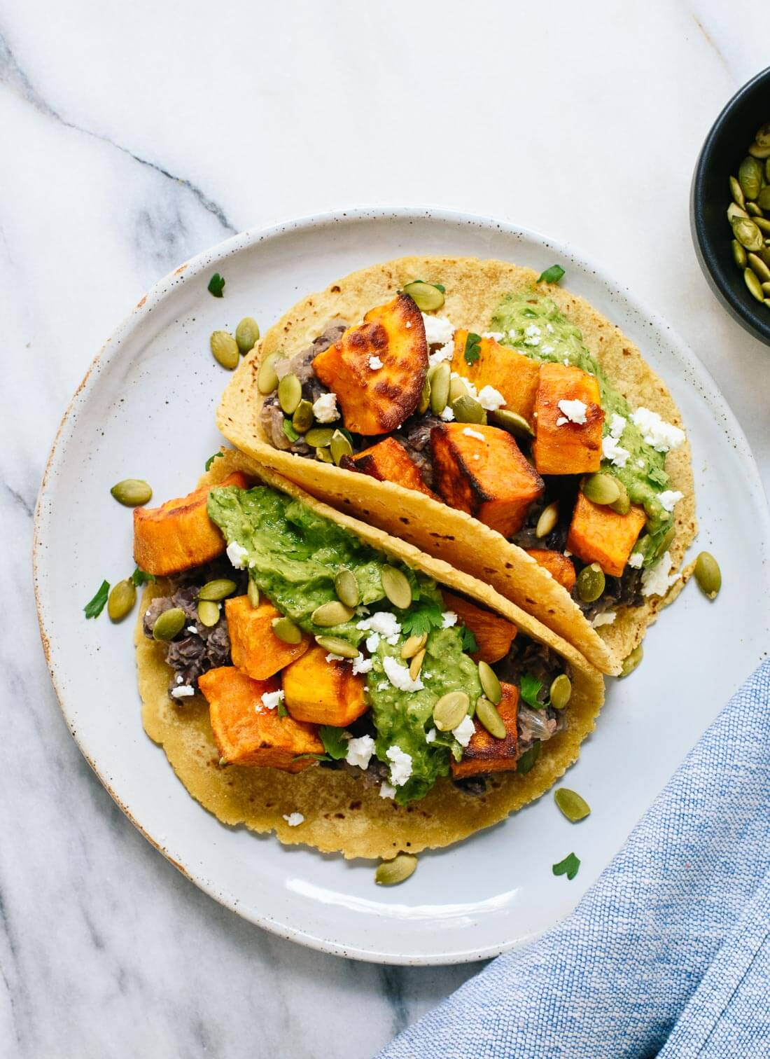 Cuisine Yam Sweet Potato And Black Bean Tacos