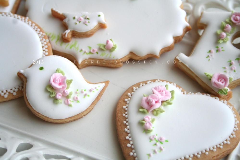 One Dozen Gilded Heart Sugar Cookies Valentines Day Wedding