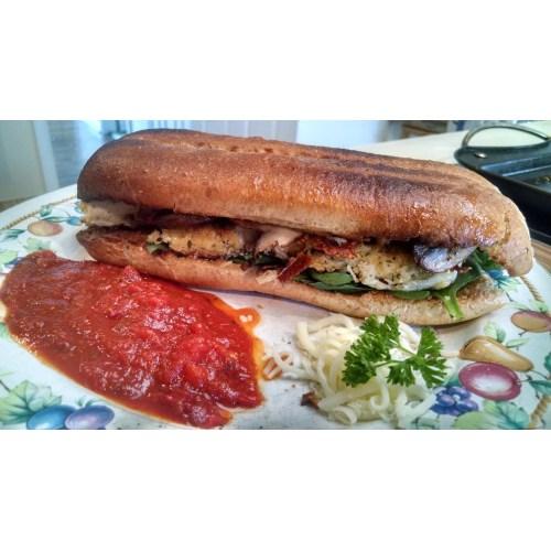 Medium Crop Of Chicken Parmesan Sandwich
