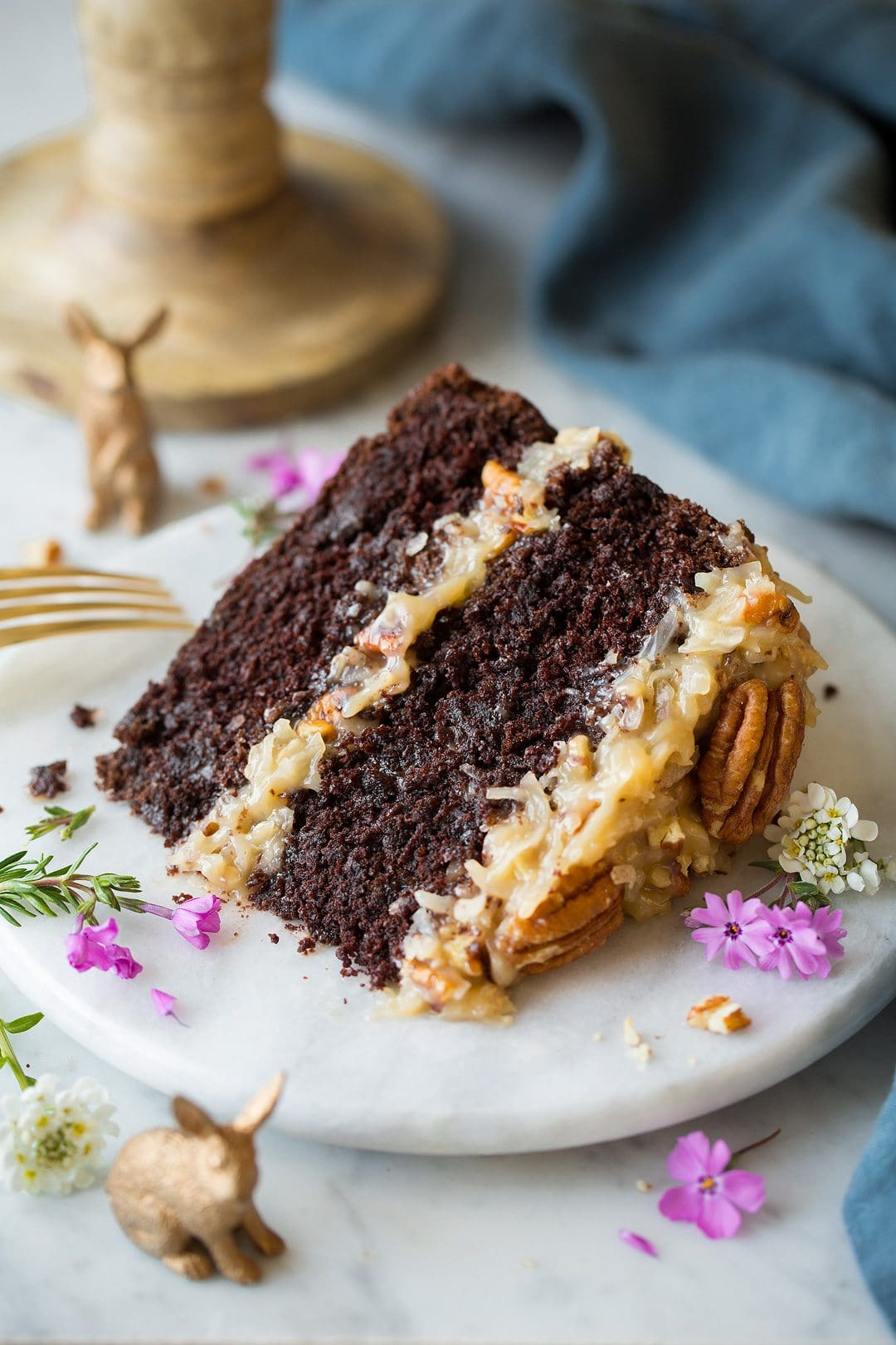 Cocos Kuchen The Best German Chocolate Cake Cooking Classy