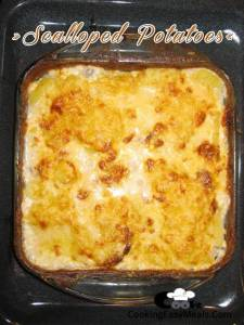 Scalloped Potatoes Recipe | Cooking Easy Meals
