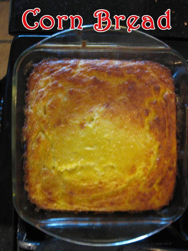 Corn Bread or Corn Souffle| Colombian Twist