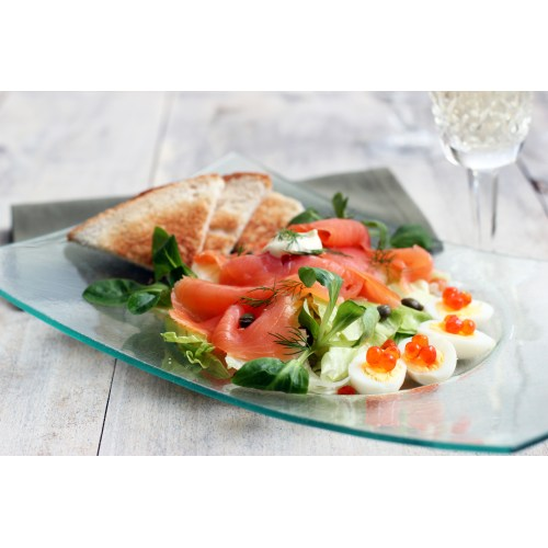 Medium Crop Of Smoked Salmon Salad