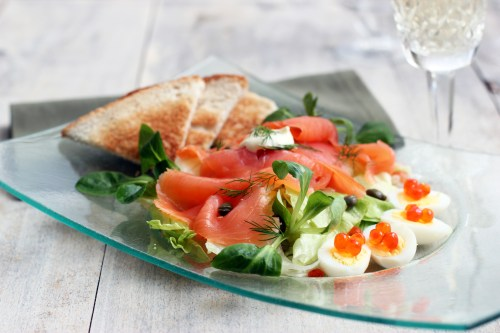 Medium Of Smoked Salmon Salad