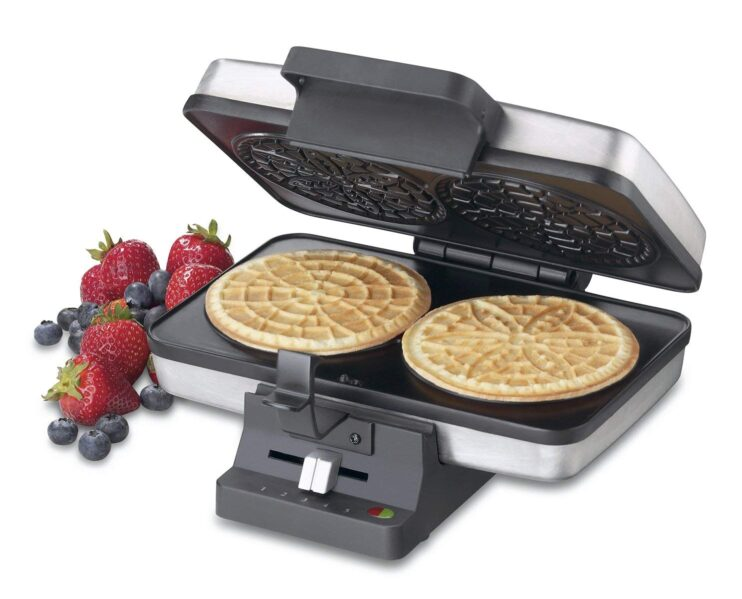 Cucinapro Waffle 6 Best Pizzelle Makers To Buy In 2019 Reviews