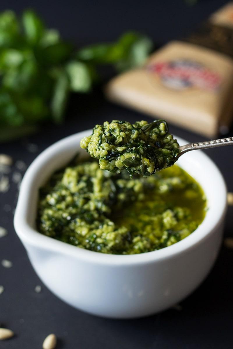 Fullsize Of Creamy Pesto Sauce