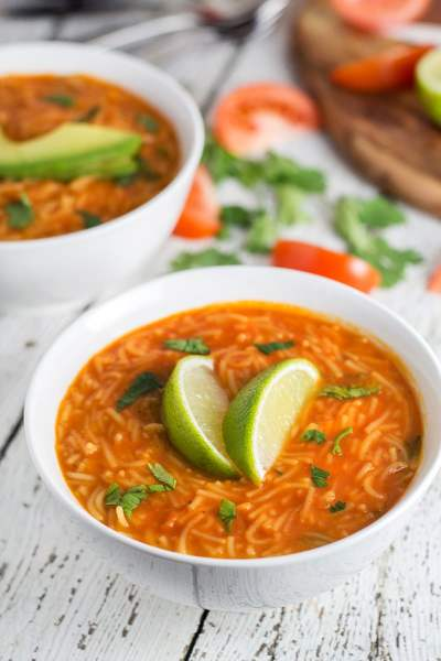 Sopa de Fideo - Mexican Noodle Soup Recipe