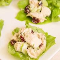 Chicken Tarragon Lettuce Wraps