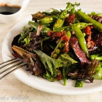 Roasted Asparagus and Snap Peas Spring Salad