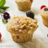 Mixed Berry Buttermilk Muffins