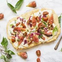 Fig Caprese Flatbread