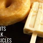 Donuts & Milk Popsicles Recipe