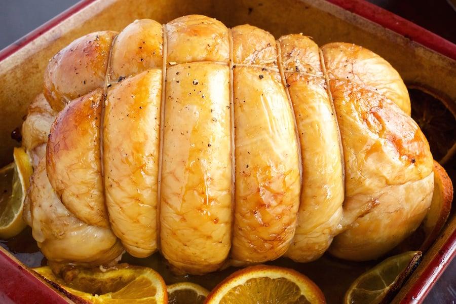 Sweet Tea Brined Turkey Recipe