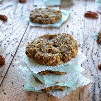 Plantain-Chia Seed Breakfast Cookies
