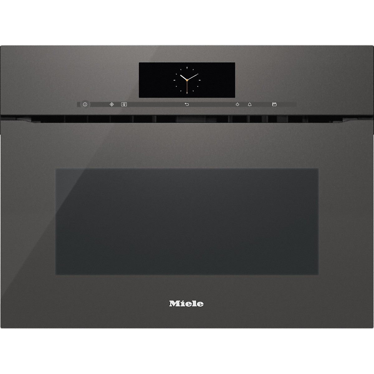 Combimagnetron Miele Miele H 6800 Bmx Grgr Graphite Grey Handleless Oven With Microwave