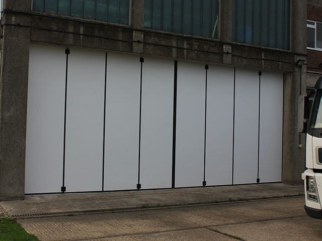 Sliding Door Shutters Industrial Insulated Doors