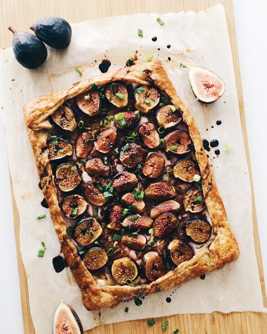 baked fig galette