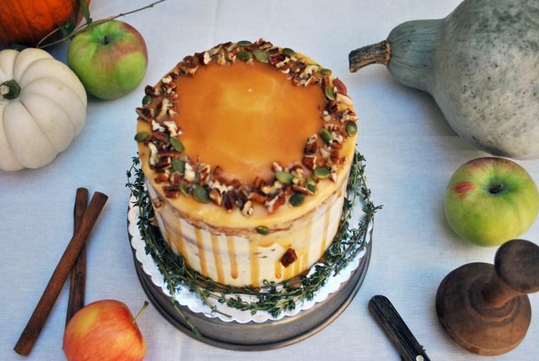 fall cliche cake