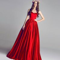 red wedding dresses trends 2016