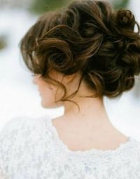 Wedding Hairstyle for Medium Hair