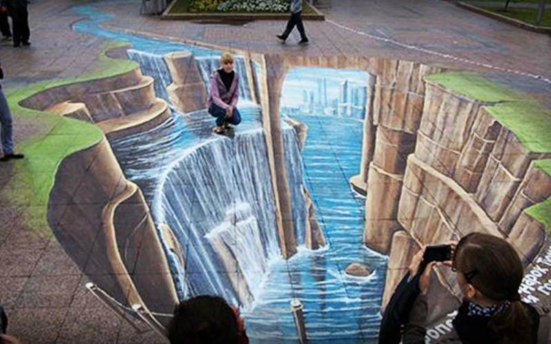 3d Crazy Wallpaper Leon Keer S Is One Of The World S Best 3d Street Artists