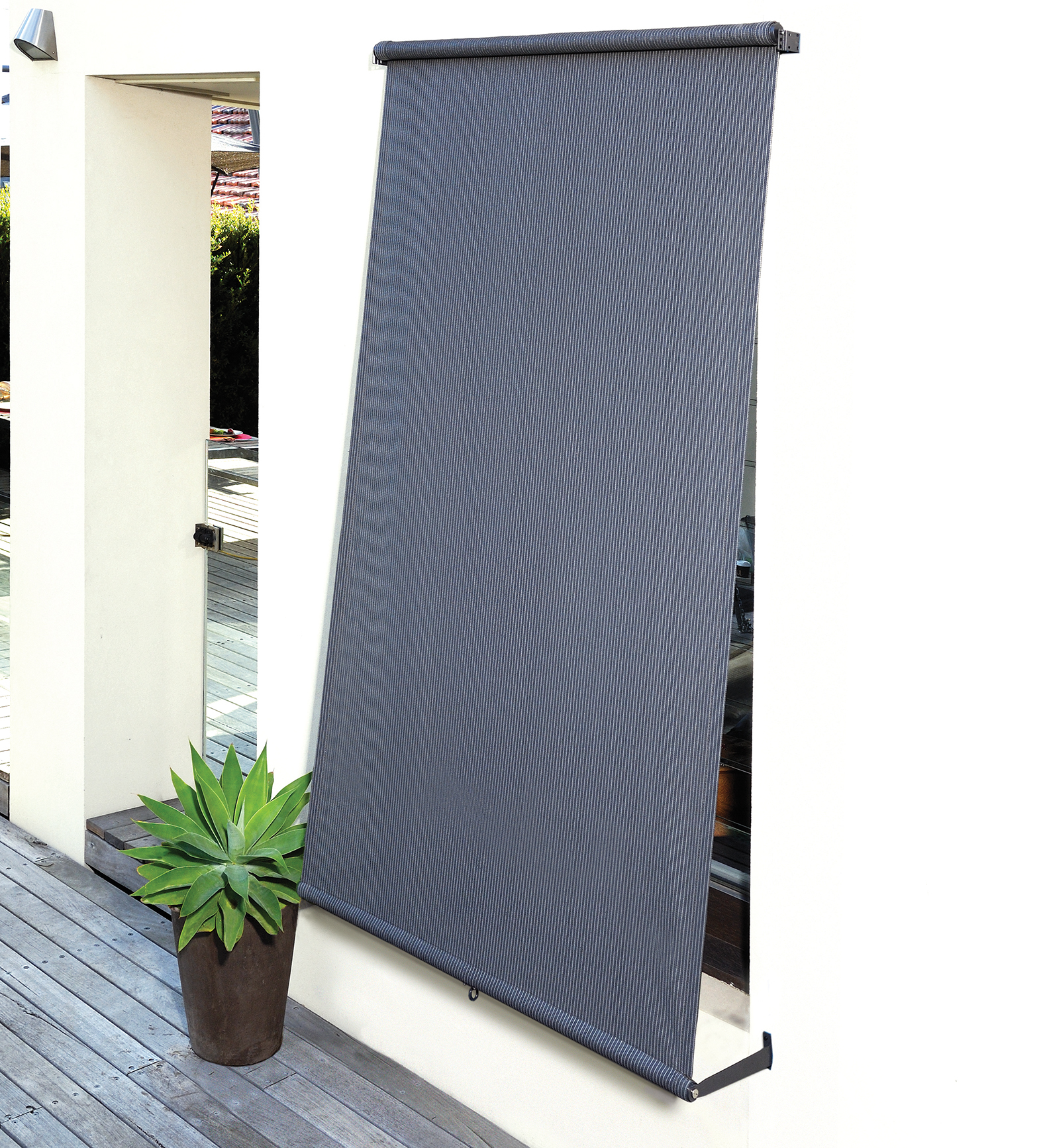 Outdoor Blinds Canberra Exterior Retractable Blinds Coolaroo