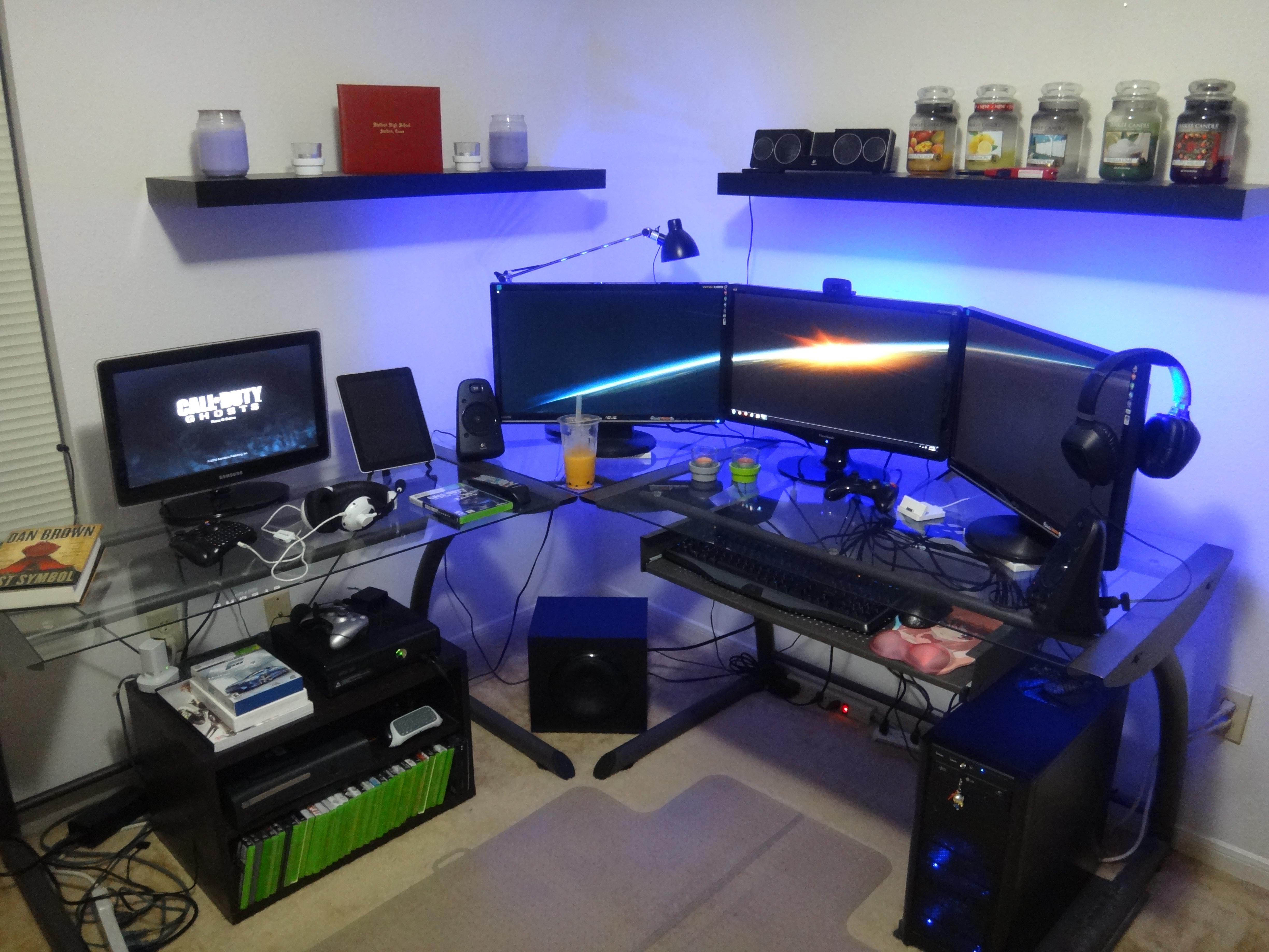 Cool Office Setups Cool Computer Setups And Gaming Setups