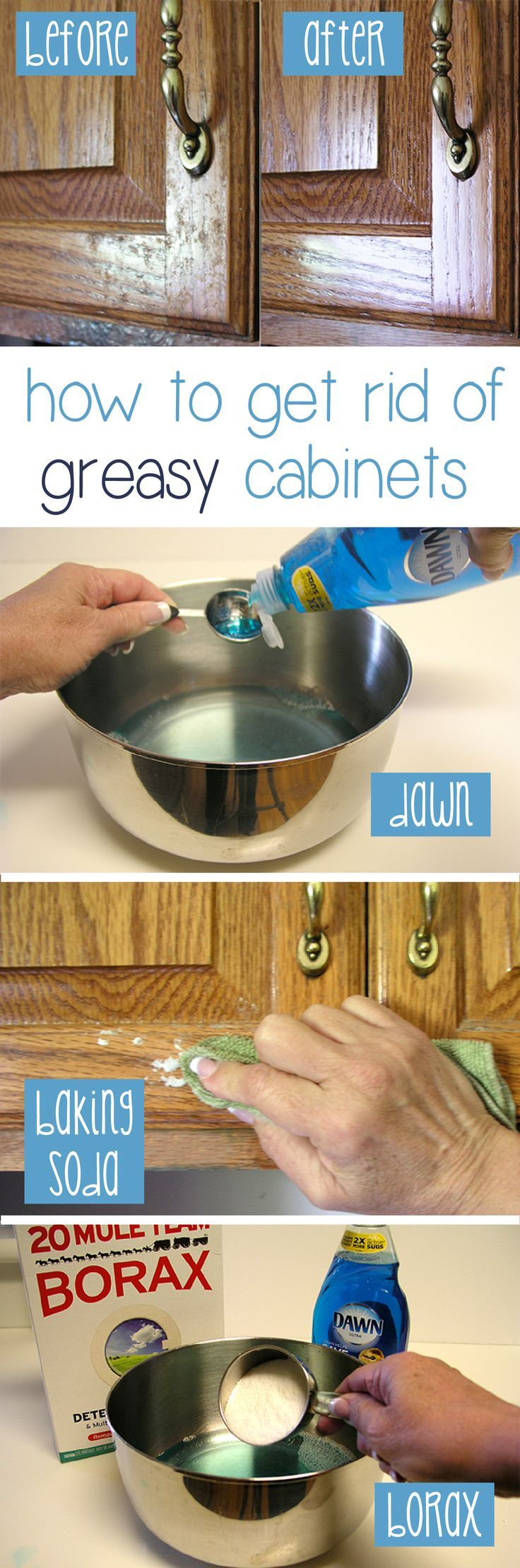 How To Remove Grease From White Kitchen Cabinets How To Clean Grease From Kitchen Cabinet Doors
