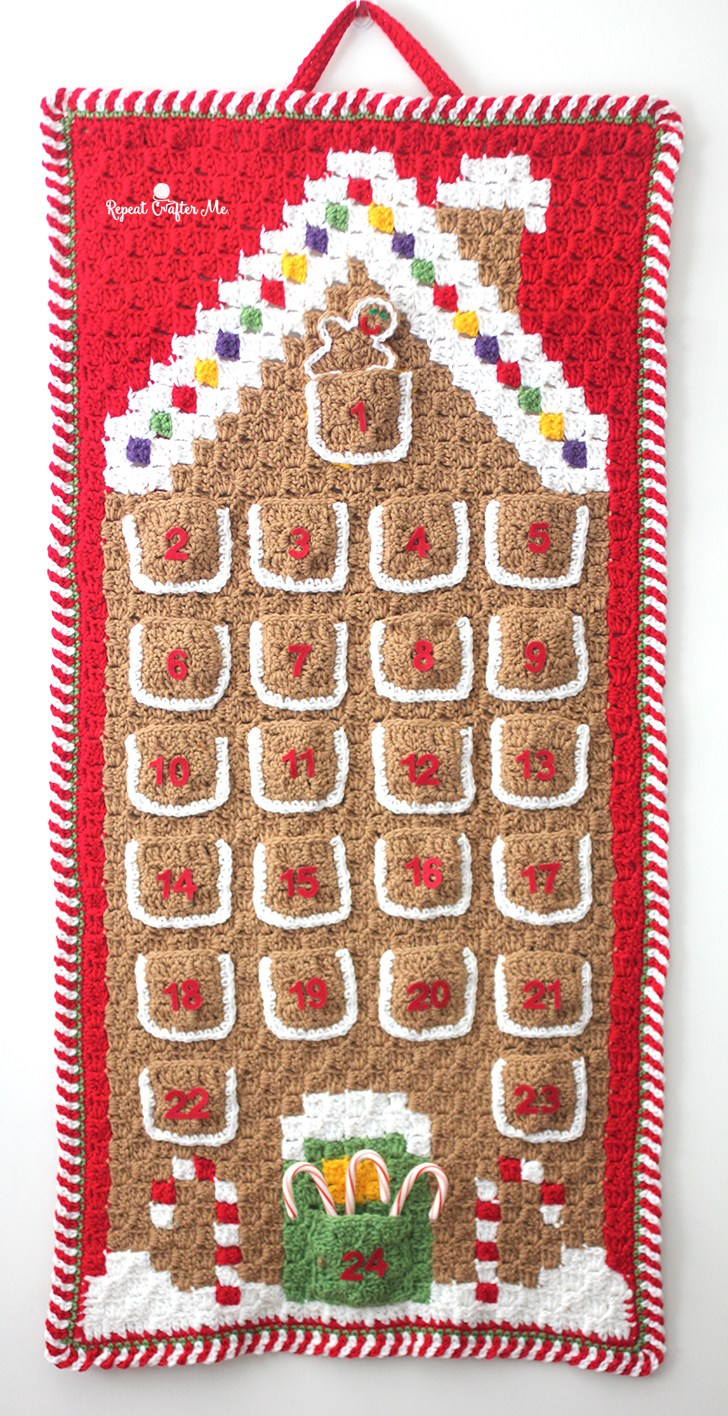 Christmas Calendar With Candy Christmas Wikipedia Advent Countdown Calendar Crochet Pattern