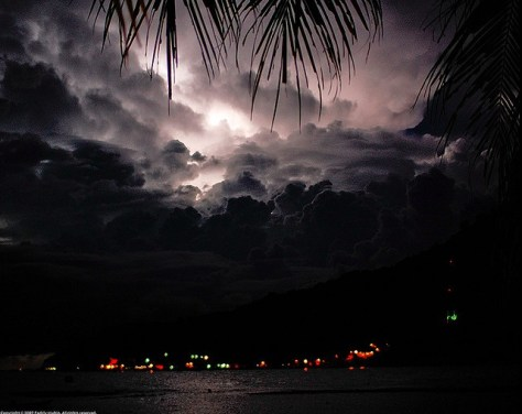 Lightning in Perhentian Island