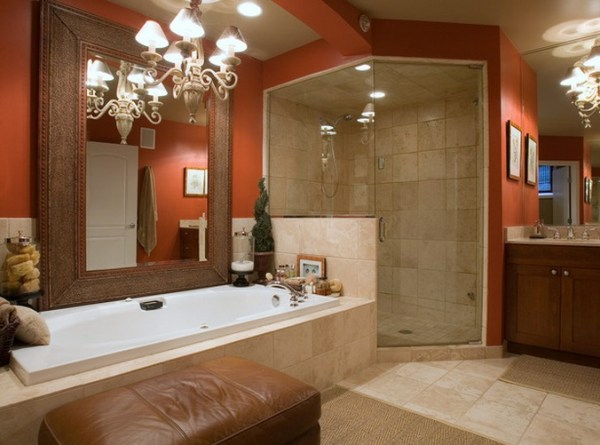 Nicely designed bathroom