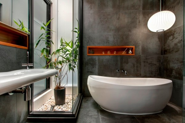 Serene small bathroom space in Sydney, Australia