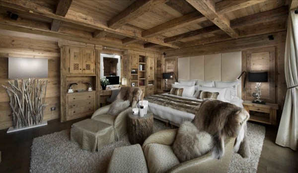 Master Bedroom in the French Alps