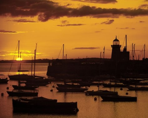 Howth Harbour Sunset #2