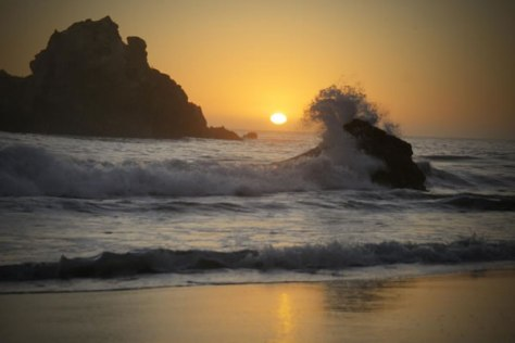 Pfeiffer Beach – Sunset Splash