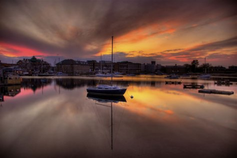 Woods Hole Sunset