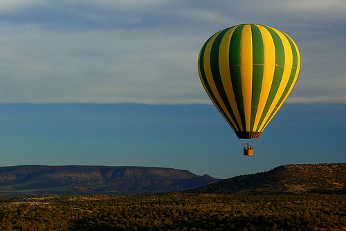 Floating Over Sedona by Scott Ableman