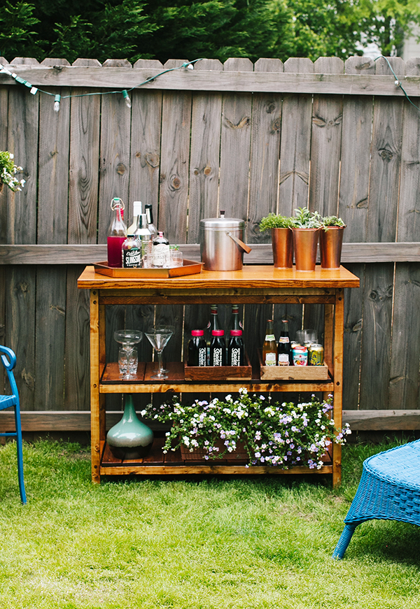 Potting Bench 15 Awesome Diy Outside Bar Ideas