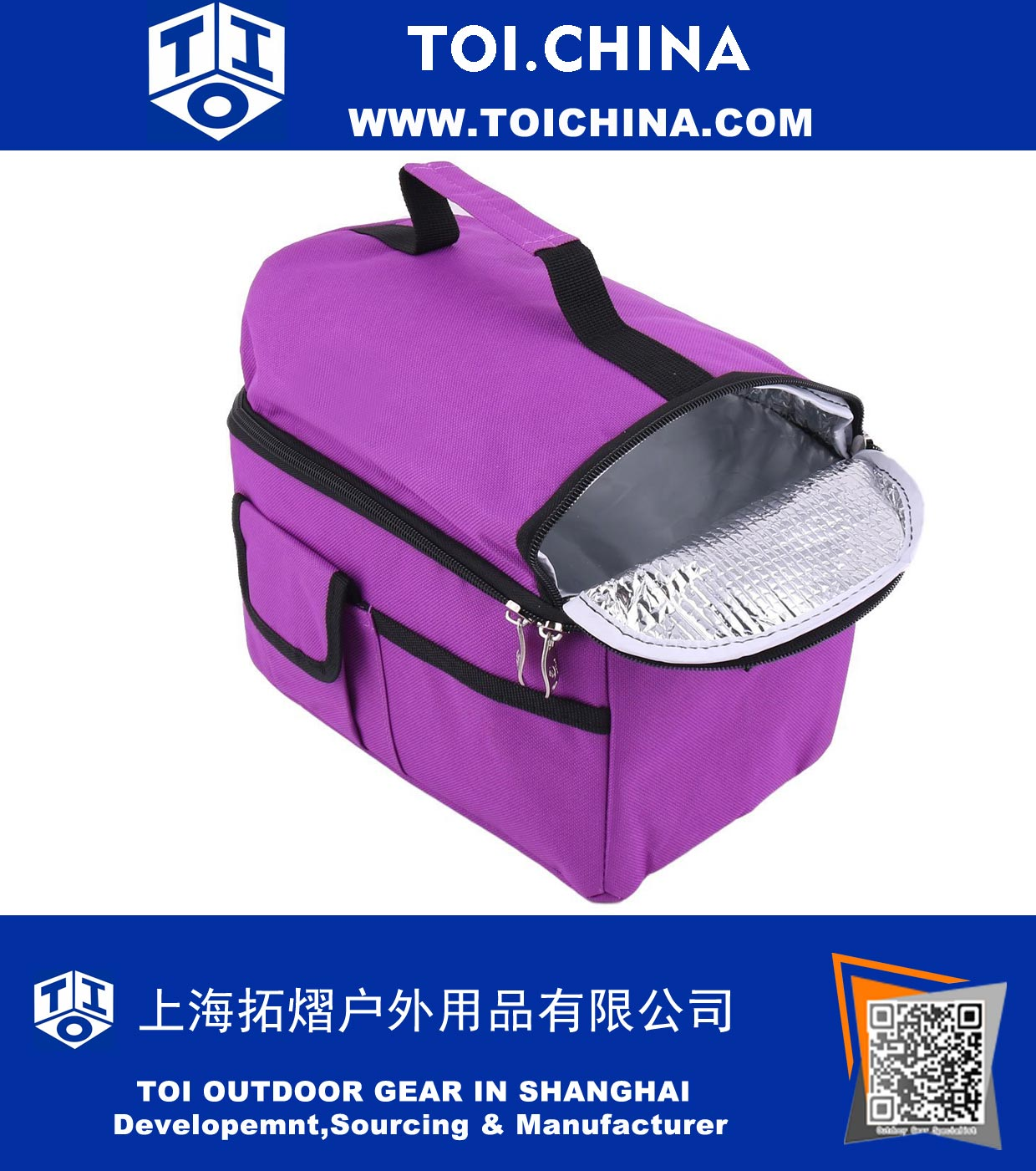 Bag Of Ice Price Nylon Outdoor Rectangle Food Lunch Drink Ice Holder Warm