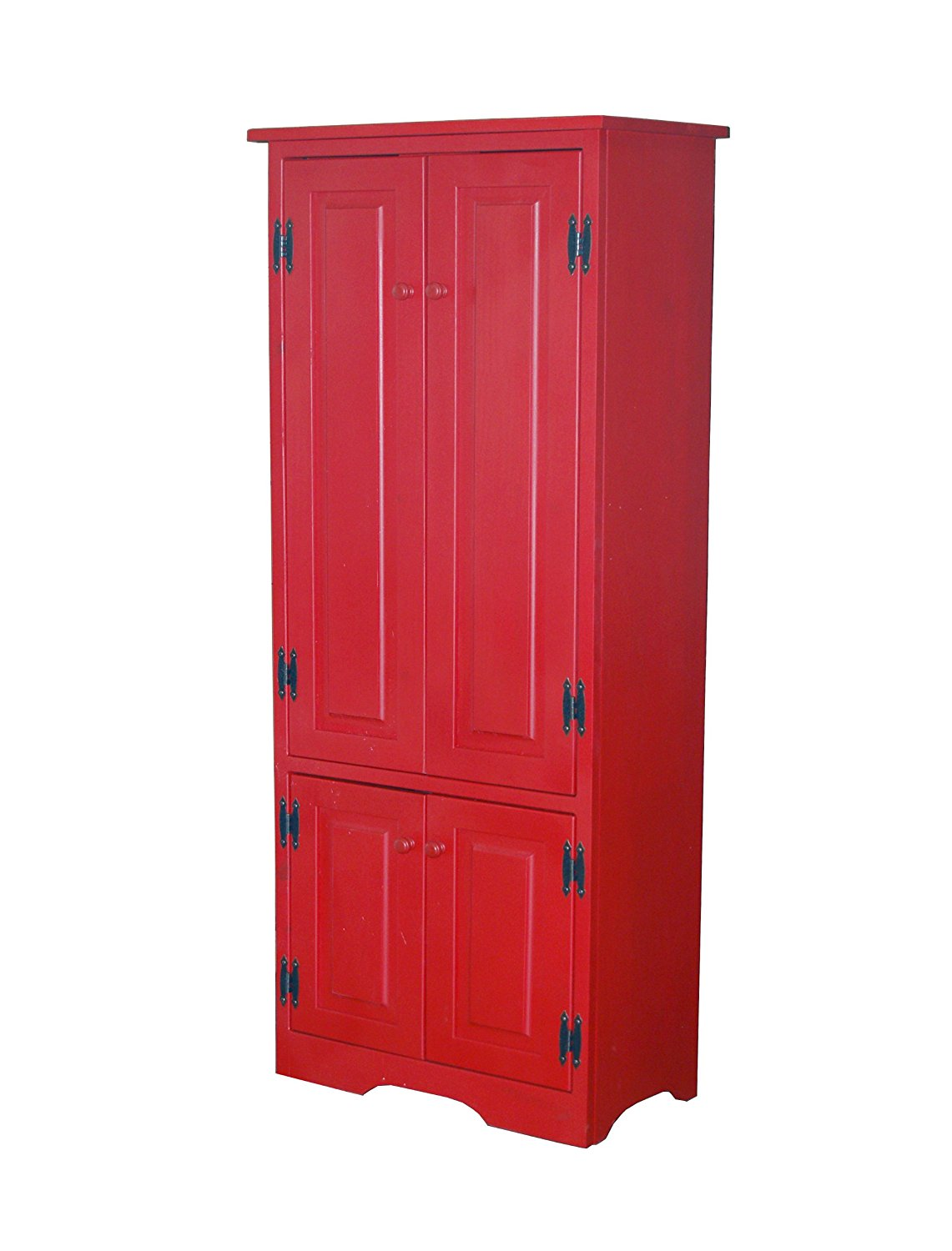 Kitchen Storage Cabinets At Target Red Kitchen Cabinets Making A Bold Statement Cool Ideas