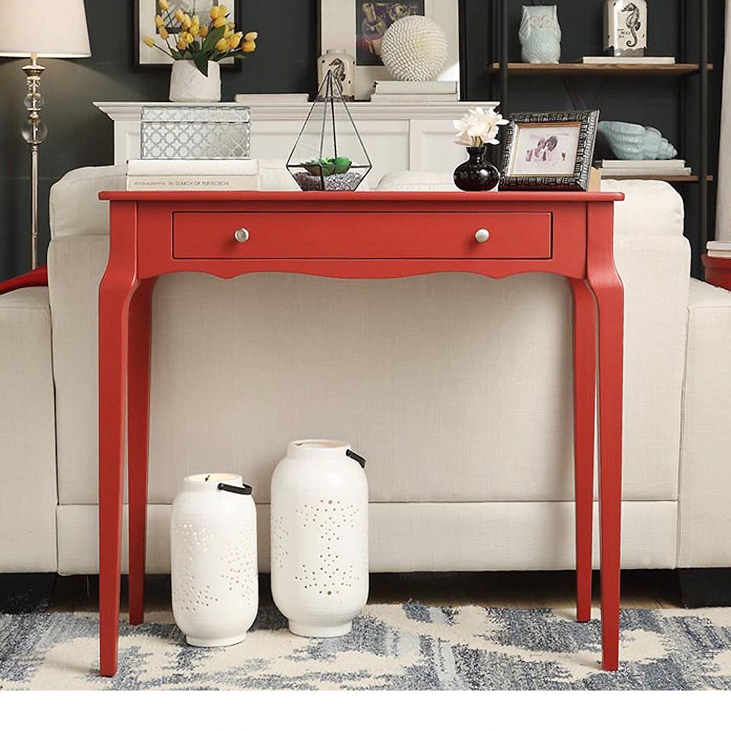 Sofa Side Table With Drawer Narrow Console Table With Drawers Advice Cool Ideas For Home